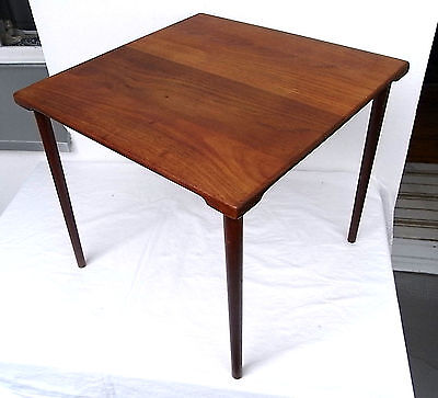 Peter Hvidt France & Son Denmark kleiner Tisch Teak side table Illums Bollighus