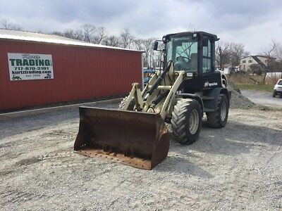 2005 Ingersoll-Rand WL350 4x4 Compact Wheel Loader w/Cab, Bucket, and Forks!