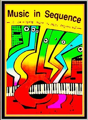 Sequencer Complete Book A-Z Synth Electronic Score Songs & Drum Patterns Midi Pc