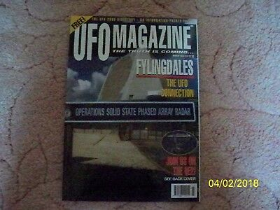 UFO MAGAZINE (The Truth is Coming)  ISSUE MARCH 2003