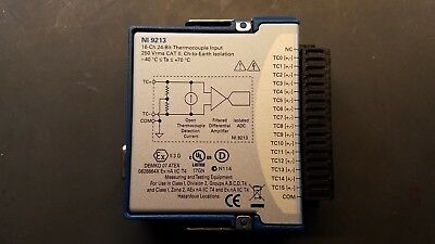 National Instruments NI 9213 16ch 24-bit Thermocouple Input Module