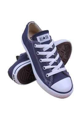 3J237 Kids Pre-School Chuck Taylor All Star Low Converse Navy