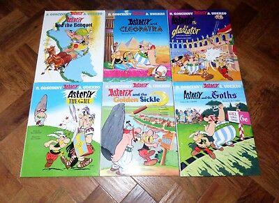 ASTERIX the GAUL – Hard Back Books x 6 in Excellent Condition