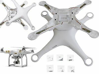 Phantom 3 Top & Bottom Cover Body Shell Case Gehäuse Oben Unten Advanced, Pro
