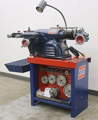 Ammco 4100 Disc Drum Brake Lathe Loaded w/ 3-Jaw Double Chuck Adapter Kit