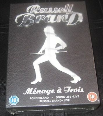 Russell Brand Menage A Trois Dvd
