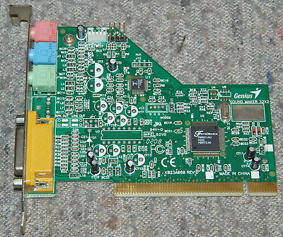 NEW DRIVERS: FM801 PCI SOUND CARD
