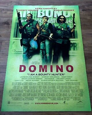 DOMINO Original US One Sheet Movie Poster, Action