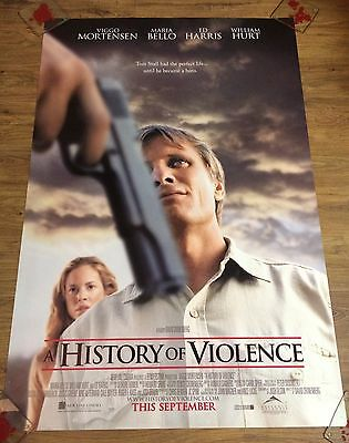 A HISTORY OF VIOLENCE Original US One Sheet Movie Poster