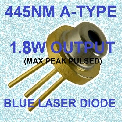 laser diode blue 445nm 450nm  m140 A-type 1.8w blue beam laser diode 2018