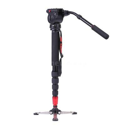 JY0506 Professional Aluminum Alloy Monopod with Fluid Head for ILDC DSLR N4J3