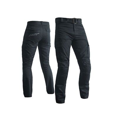 RST Mens Utility made with Kevlar Cargo Pants - Black