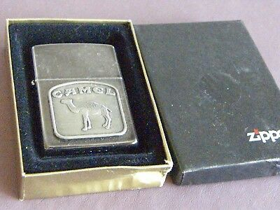 Camel Beast Tombstone Medallion Z61 Zippo 1992 Lighter Vintage NOS! MIB!!