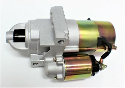CHEV SMALL BLOCK STARTER MOTOR STAGGERED BOLT 1.4kW SMALL/LARGE FLY WHEEL SBC