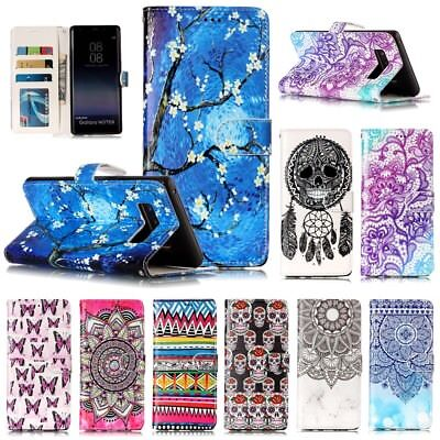Luxury Wallet Leather Flip Card Stand Case Cover For Samsung S9 Note8 S8 Plus J7
