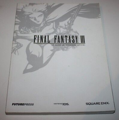++ le guide de stratégie officiel FINAL FANTASY III 3 nintendo DS ++