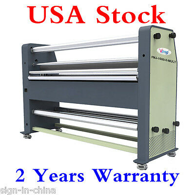 """USA Stock!! Ving 110V 63"""" New Type Full - auto Wide Format Hot / Cold Laminator"""