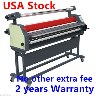 """US Stock! 110V 63"""" Full - auto Wide Format Cold Laminator with Heat Assisted"""