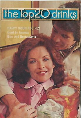 Vintage 1976 The Top 20 Happy Hour Bar Drinks, Southern Comfort Recipe Booklet