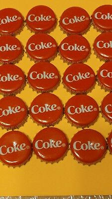 20 Used Coke Coca Cola Soft Drink Pop Bottle Caps Lot Not Perfect