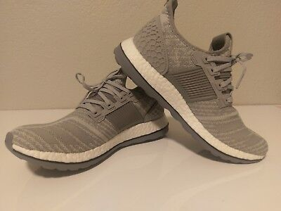 04e5c1161 Adidas Pure Boost ZG Shoes Men s size 8 - Grey - FREE SHIPPING - AQ6768