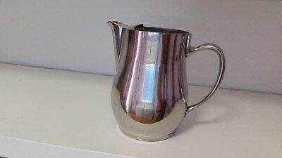 Oneida Silver Water Pitcher with Lip and Handle
