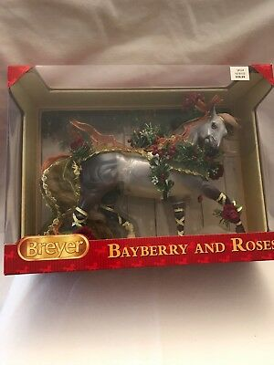 """Breyer Holiday Horse 2014 """" Bayberry And Roses"""" Mint In The Box Model # 700117"""