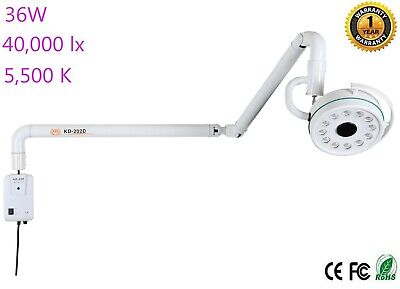 Advanced 36W Shadowless Lamp Wall Hanging LED New Surgical Medical Exam Light