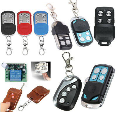 303/315/433MHz Universal Remote Control Key Fob Electric Gate Garage Door