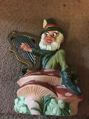 J P Van Winkle & Son Minstrel Leprechaun #2 1982 distilled spirits decanter