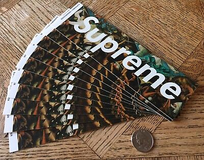 Supreme / Undercover Fall of the Rebel Angels Box Logo Sticker FW16