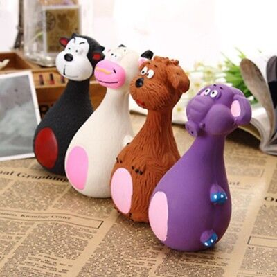 Various For Cute Dog toy Play Pet Puppy Chew Squeaker Squeaky Plush Sound Toys