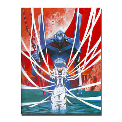 Neon Genesis Evangelion The End of Evangelion Movie Silk Canvas Poster Print