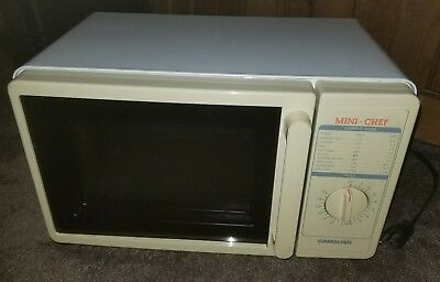 Samsung Mini Chef Microwave Mw1010 Compact For Dorm Boat Rv Nursery Excellent