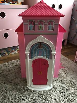 mattel barbie traumhaus malibu bjp34 mit zubeh r eur 25. Black Bedroom Furniture Sets. Home Design Ideas