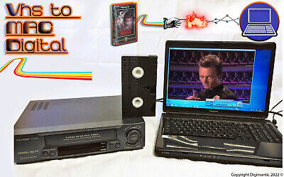 VHS Video Player / Recorder Kit ~ Convert VHS Tape To MAC DVD + VCR PLAYER!