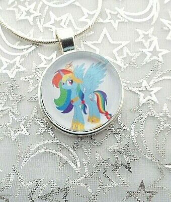 My Little Pony Rainbow Dash Strong Chain 18 Inch 4-6 Y Gift Box Party Birthday