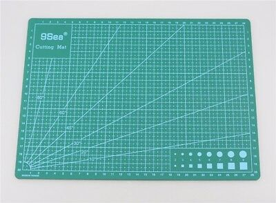 A2 A3 A4 PVC Self Healing Cutting Mat Craft Quilting Grid Lines Printed Board