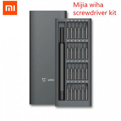 Original Xiaomi Mijia Wiha Daily Use Screw Kit 24 Precision Magnetic Bits