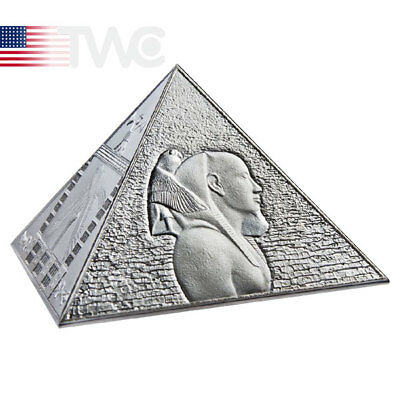 Niue 2014 15$ The Great Pyramids Masterpiece of Mint Art 3 oz Proof Silver Coin