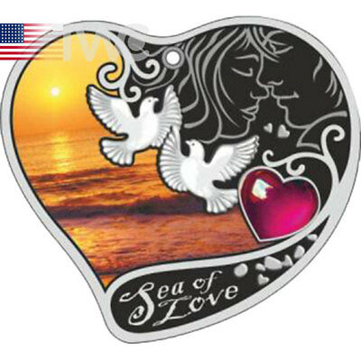 Sea of Love Proof Silver Coin 1$ Niue 2017