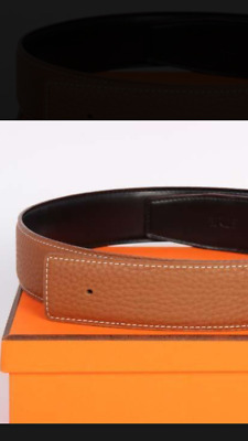 Mens Designer Belts For Men H Belt Letter H Buckle Luxury Reversible H Belts