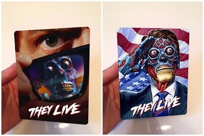 THEY LIVE Magnet cover with Flip effect for Steelbook
