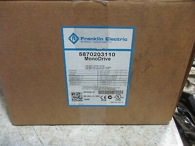MONODRIVE Constant Pressure Controller Franklin Electric 5870203110 NEW IN BOX