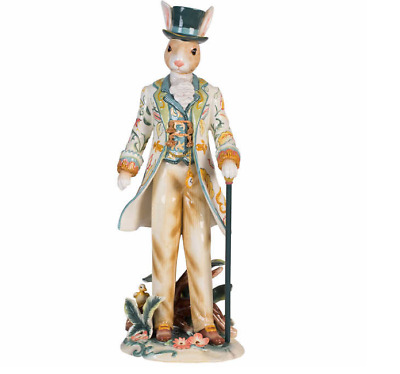 New Rabbit Dapper Male Figurine Designed Hand-crafted By Fitz and Floyd Artisans