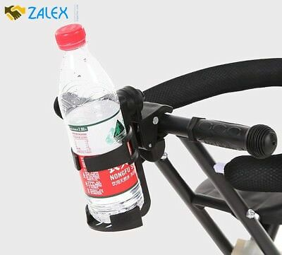 Universal Cup Drink Holder 360 Degrees Rotated For Baby Stroller Mountain Bike