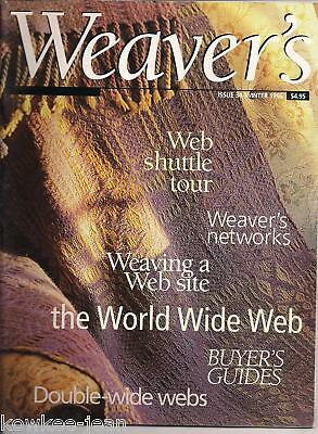 Weaver's magazine 34: DOUBLE-WIDTH coverlet, tablecloth, dishtowels, more...