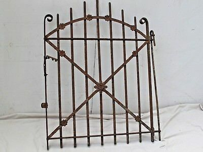 Antique Victorian Iron Garden Gate