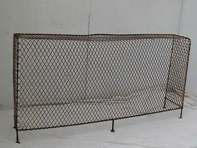 Antique Twisted Wire Bank Teller's Cage Industrial