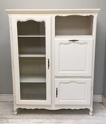 Decorative Old French Louis Xv Style Display Cupboard / Armoire
